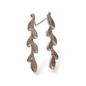 Ceasar Earrings 18k Whitegold
