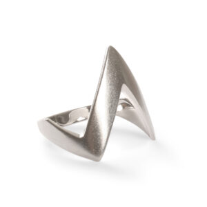 Cyber Ring silver