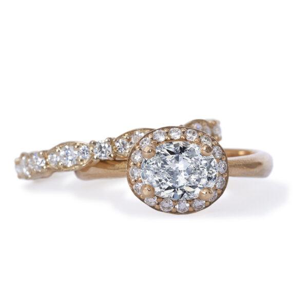 Oval diamant