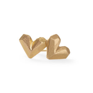 SweetHeart Earrings 18k gold