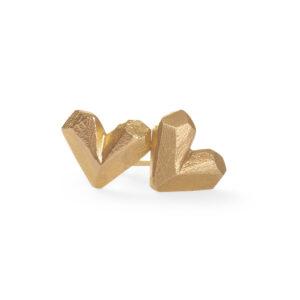 SweetHeart Earrings 18k gold