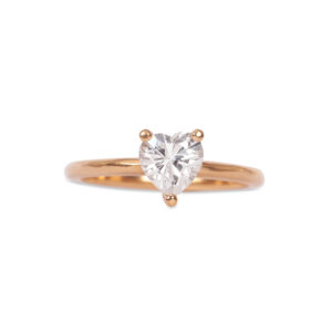 Heart ring 0.75ct
